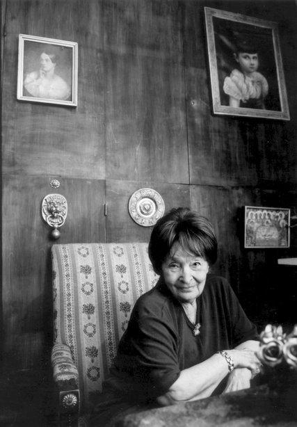 Magda Szabó by Bodo Gabor